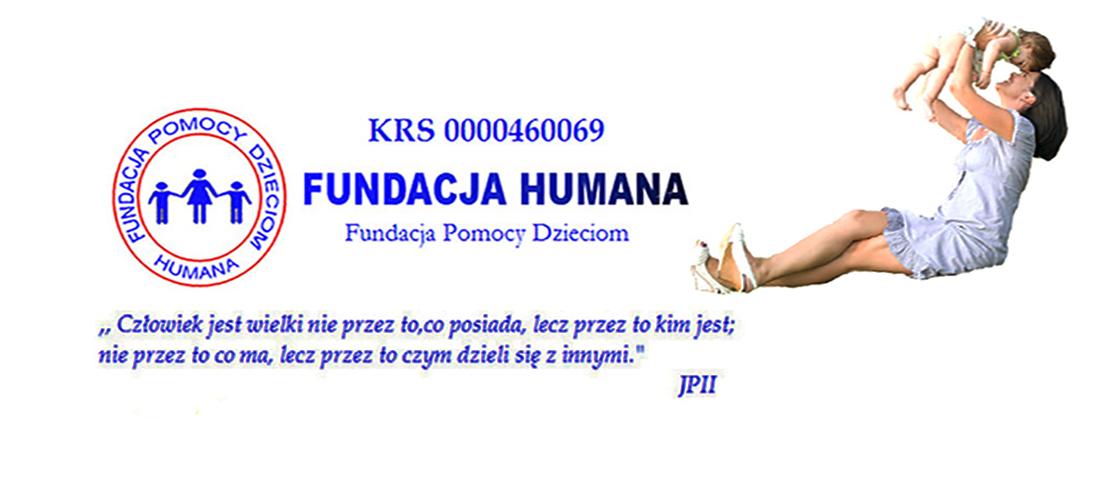 """Fundacja Pomocy Dzieciom """"Humana"""""""